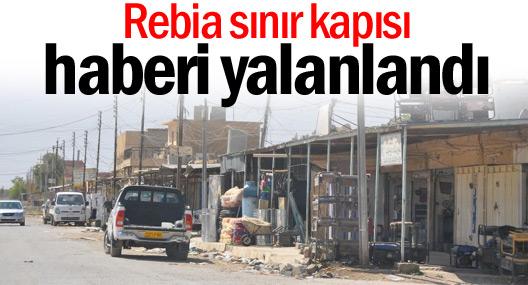 El Cezire'den Rebia sınır kapısı haberi yalanı