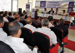 Muhasebecilerin Meclis toplantısı hakkari'de yapıldı