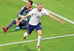 Fransa, İsviç-re'ye gol yağdırdı