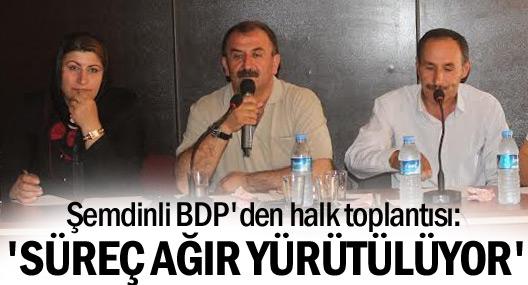 Şemdinli BDP'den halk toplantısı