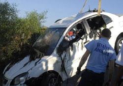 Antalya'da feci kazza: 4 kişi öldü