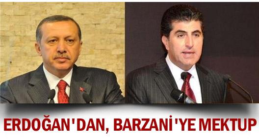 Başbakan Erdoğan'dan, Başbakan Barzani'ye Kutlama Mesajı