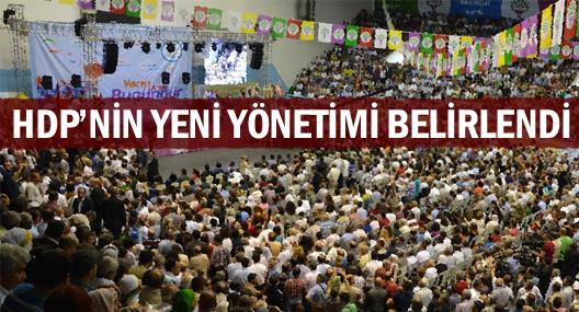 HDP'nin yeni yönetimi belirlendi