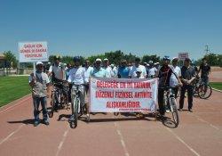Sağlıklı Yaşam İçin Bisiklete Binme Etkinliği Düzenlendi