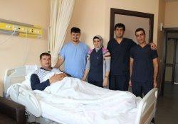 Solhan'da İlk Kez Safra Kesesi Ameliyatı Yapıldı