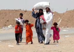Musul'dan göç edenlerin sayısı 900 bin