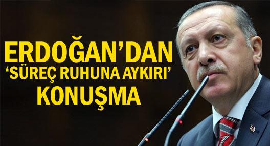 Erdoğan HDP'ye yüklendi!