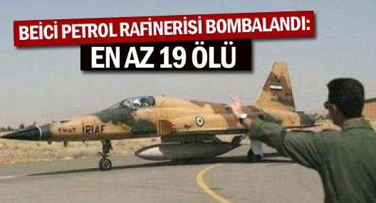 Irak Ordusu Işid'in Elindeki Beici Petrol Rafinerisini Bombaladı: En Az 19 Ölü