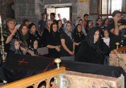 Son Ermeni'ye Süryani Kilisesi'nde Veda