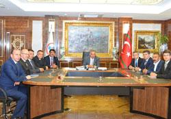 HATSO heyetinin Ankara temasları