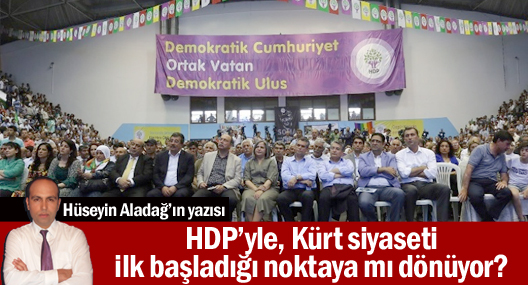 HDP'yle Kürt siyaseti ilk başladığı noktaya mı dönüyor?