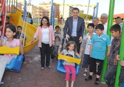 Siirt'te 2 Park Törenle Hizmete Açıldı