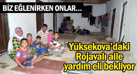 Yüksekova'daki Rojavalı aile yardım bekliyor