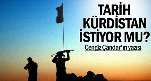 'Tarih', Kürdistan istiyor mu?