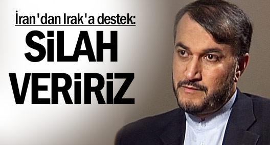 İran: Irak'a Silah Veririz