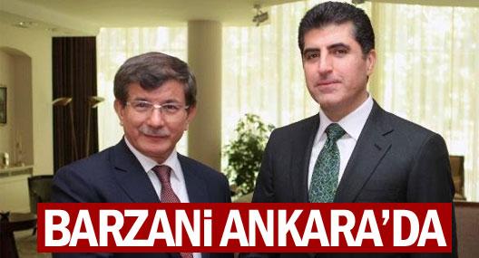 Federal Kürdistan  Başbakanı Barzani Ankara'da