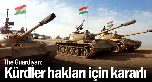 Guardian: Bugün Kürdler, haklarını korumak için her zamankinden daha kararlı