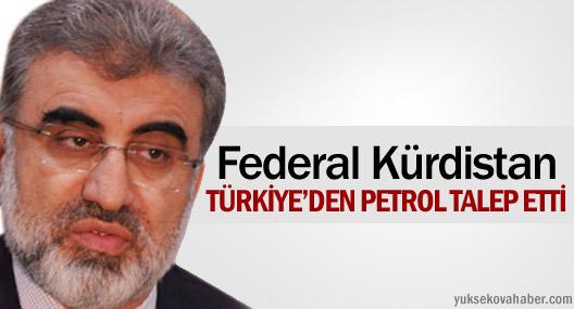 Federal Kürdistan, Türkiye'den petrol talep etti