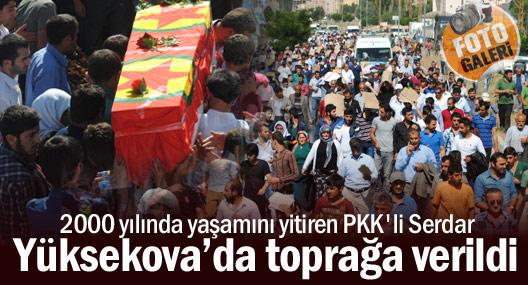 PKK'li Serdar Yüksekova'da toprağa verildi