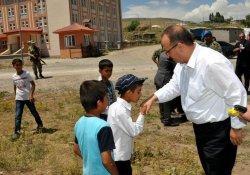 Vali Canbolat Köy Ziyaretlerine Devam Ediyor