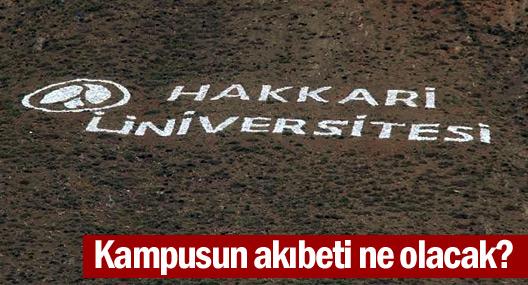Üniversite kampusunun akıbeti ne olacak?