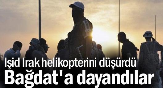 IŞID Irak helikopterini düşürdü