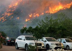 Antalya yanıyor
