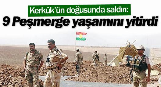 Kerkük'ün doğusunda saldırı: 9 Peşmerge yaşamını yitirdi