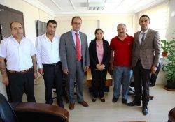 Kahvaltıcılar Derneği İpekyolu Belediyesi'ni ziyaret etti