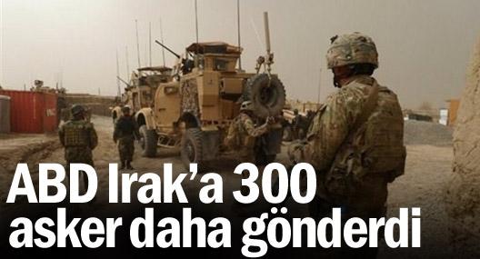 ABD Irak'a 300 asker daha gönderdi