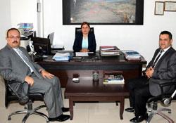 Vali Canbolat'ın kurum ziyaretleri sürüyor