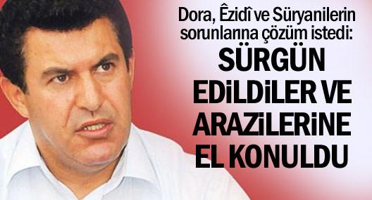 Dora: Êzidî ve Süryanilerin sorunu için komisyon kurabiliriz