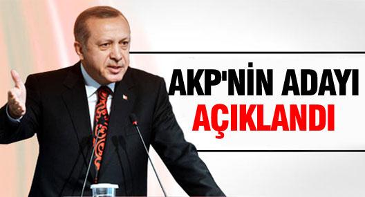 AKPnin Köşk adayı açıklandı