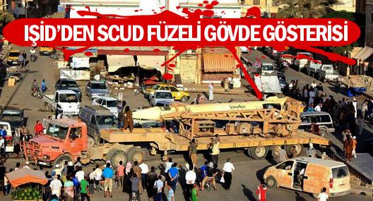 Işid'den Scud Füzeli Gövde Gösterisi