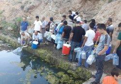 Vatandaşlar kaynak sularına yöneliyor
