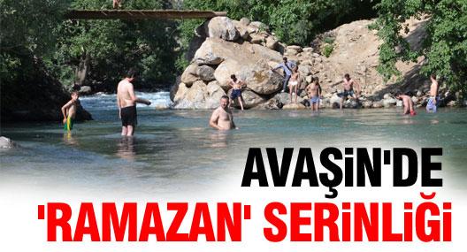 Yüksekova Dağlıca'da 'Ramazan' serinliği