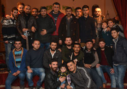 Feqiyê Teyran' Kültür Merkezi'nden anlamlı gece