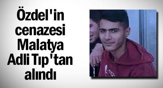 Özdel'in cenazesi Malatya'dan çıkarıldı