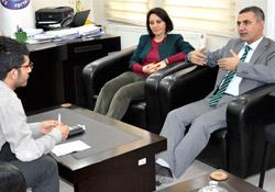 Iğdır Belediyesi Eş Başkanları ile Röportaj: Iğdır Kürdistan'ın kalbi olabilir