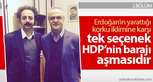 Remzi Kartal: Erdoğan'ın en büyük endişesi HDP'nin barajı aşmasıdır