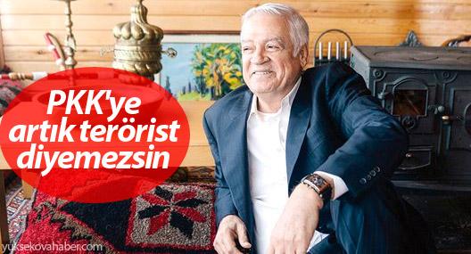 'PKK'ye artık terörist diyemezsin'