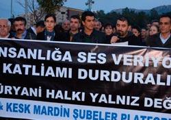 Süryanilere yönelik saldırılar Mardin'de kınandı
