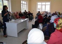 KJA aktivistleri Muradiyeli kadınlarla buluştu