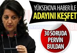 30 soruda Pervin Buldan