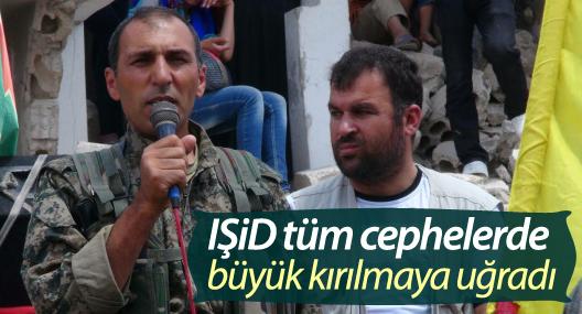 Burkan el Firat Komutanı Haqi Kobani: IŞİD büyük kırılmaya uğradı