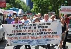 İstanbul'da çevre örgütleri LİMAK şirketine yürüdü