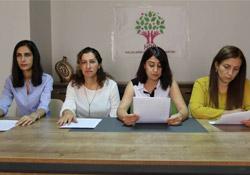 Kadın çalıştayının sonuç bildirgesini açıklandı
