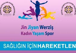 Mardin'de kadınlar için spor kursları açıldı