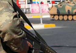Sur'da patlama: 1 asker yaralandı