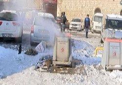 Eminönü'nde korkutan patlama